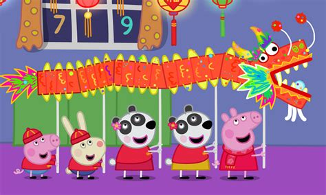peppa pig lights globe chinese year specials