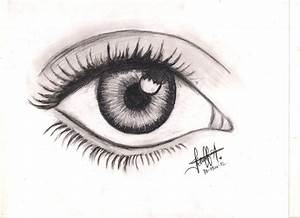 Simple Eye (: by Manizalita on DeviantArt