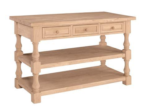 unfinished furniture kitchen island tuscan kitchen island stark wood unfinished furniture