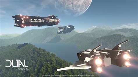 dual universe  gameplay footage  impressive vg