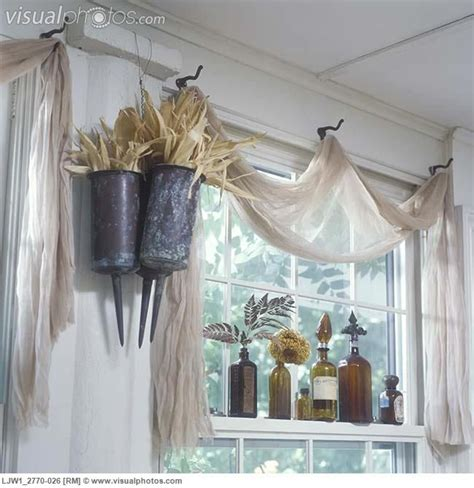 Country Window Treatments by Window Treatments Unique Scrim A Net Like Fabric