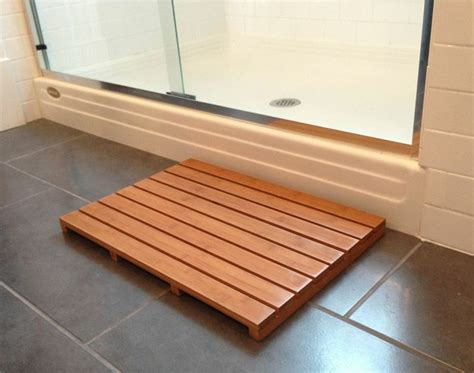 shower floor mats wooden bath mats are wood shower mats by american floor mats