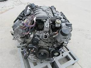Mercedes S500 Engine Motor Long Block Assy  5 0l V8 177k