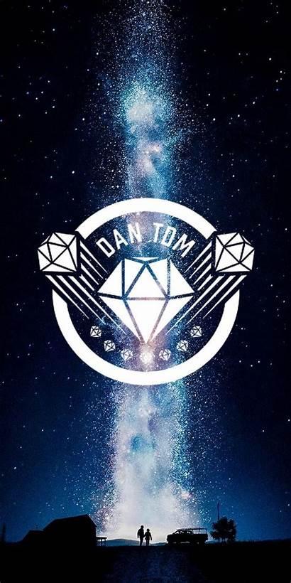 Youtubers Logos Wallpapers Aesthetic Dantdm Wallpapersafari