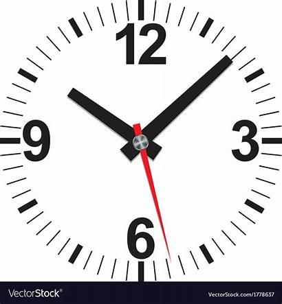 Clock Analog Icon Vector Royalty Illustration Illustrat