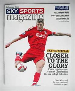 Magazine De Sport : sky sports magazine february 2009 steven gerrard cover ~ Medecine-chirurgie-esthetiques.com Avis de Voitures