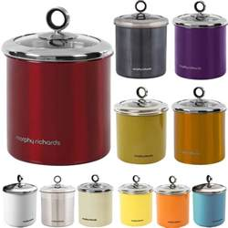 kitchen storage canisters morphy richards tea coffee sugar biscuit cake kitchen
