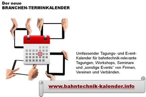 bahntechnik kalenderinfo open event calendar ein innovatives