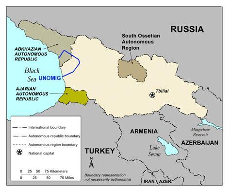 georgia map map picture