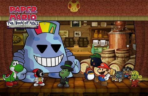 paper mario fan game paper mario boa chapter 2 by chetrippo on deviantart