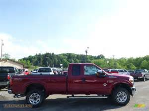 2015 Ford F-250 Super Duty Red