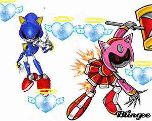 metal sonic metal amy rose Picture #107411909   Blingee.com