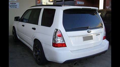 modified subaru forester xt wagon turbocharged