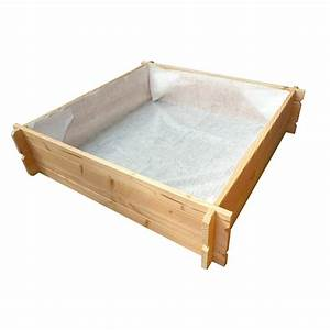 Mini Potager En Bois : carr potager bois jardiland ~ Premium-room.com Idées de Décoration