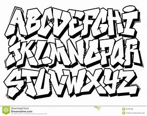 graffiti alphabet block letters a z letters example With photo block letters