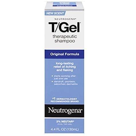 neutrogena tgel therapeutic shampoo original formula dandruff treatment  fl oz walmart