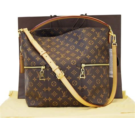 authentic louis vuitton monogram melie hobo shoulder bag