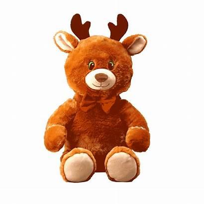 Gingerbread Toy Reindeer Plush Flipemz Feet