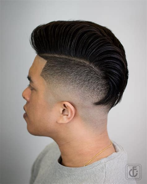 popular pompadour haircut mens hairstyle swag