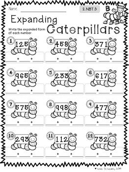 spring math worksheets for 2nd grade spring math printables differentiated for 2nd grade tpt