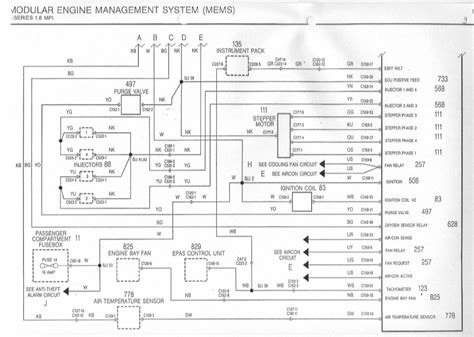 Rover 75 Diesel Wiring Diagram by Newbie Mgf Ecu Problem Page 2 Mg Rover Org Forums