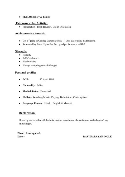 resume exles for extracurricular activities resume