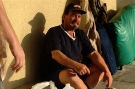 california homeless lands after handing out
