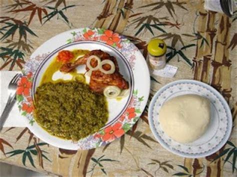 Congolese Food Pondumakayabu & Fufu Not Forgetting