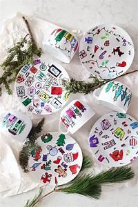 Geschenke Selbst Machen : die besten 25 kinder geschirr ideen auf pinterest becher handwerk geschenke basteln mit ~ Watch28wear.com Haus und Dekorationen