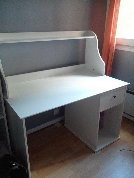 ikea bureau blanc achetez bureau blanc ikea occasion annonce vente à tassin