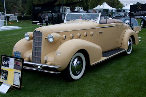 LaSalle 350 Convertible Coupe - 2011 The Quail, a ...