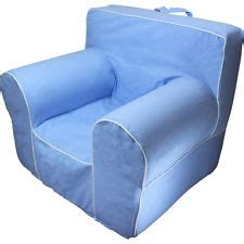 Oversized Anywhere Chair Slipcover by Insert For Pottery Barn Anywhere Chair With Light Blue