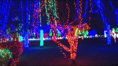 Kiwanis Lights Mankato by Keyc Sibley Park In Mankato The Glow Of The