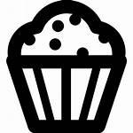 Icon Cupcake Dessert Desserts Icons Svg Cupcakes