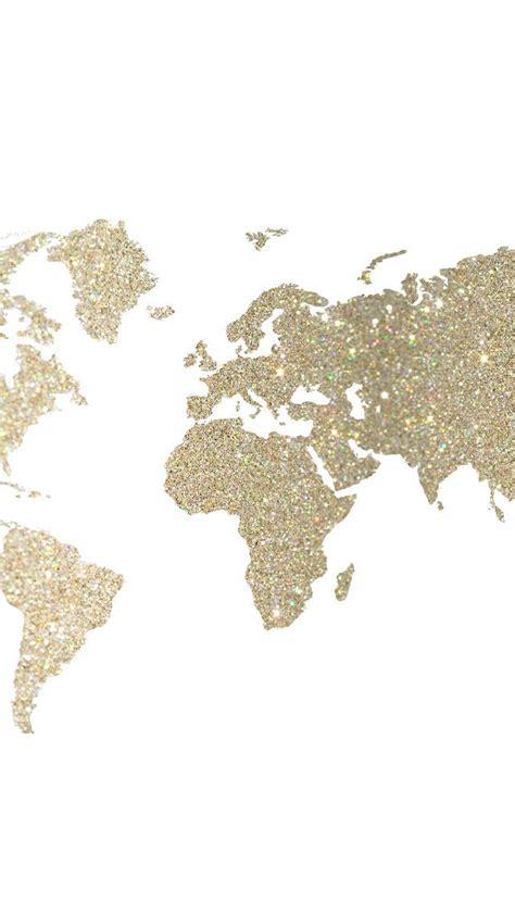 Papier Peint Carte Du Monde Gold by Map In Gold Iphone Wallpaper Fond Ecran Telephone Carte