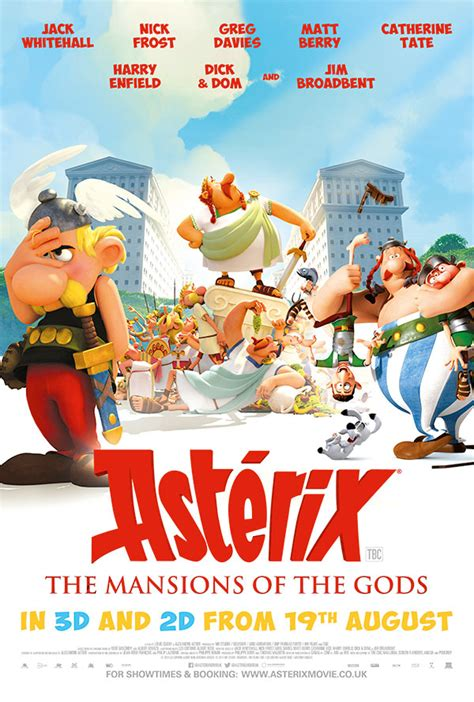 asterix  mansions   gods book