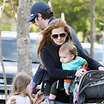 Sacha Baron Cohen 40th Birthday Boat Pictures With Olive ...