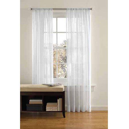 better homes and gardens curtains better homes and gardens crushed voile curtain panel