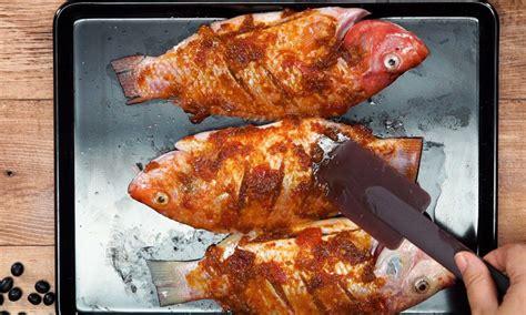 Gaulkan ikan dengan kunyit dan garam dan goreng sehingga masak. Resep Ikan Nila Bakar Kecap Pedas - Masak Apa Hari ini?