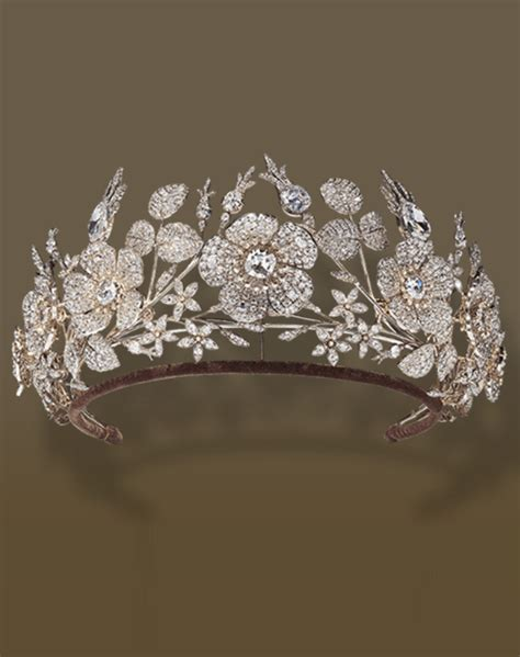 jean baptise fossin diamond tiara  royal