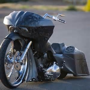 Motorcycle Custom Harley Baggers
