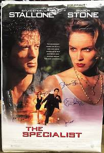 U0026quot The Specialist U0026quot  1994 Movie Poster Autographed Signed By