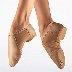 So Danca Split Sole Stretch Jazz Shoe - Tan - Move Dancewear®