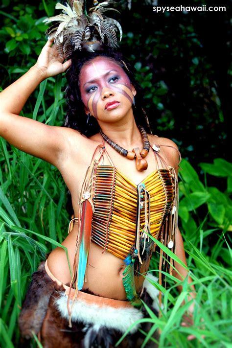 Full Tribal Warrior Woman Costume Costumes Tribal