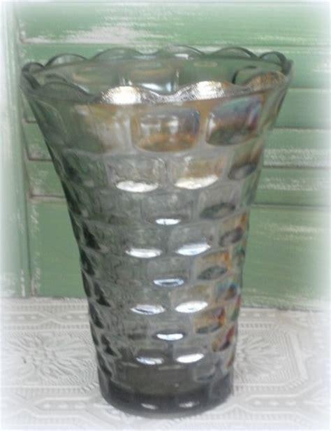 carnival glass vase vintage colonial federal carnival glass vase