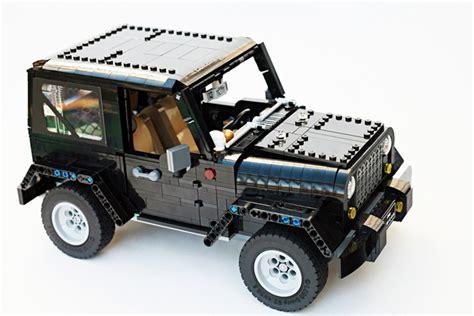 Lego Ideas Jeep Wrangler Rubicon Raggiunge I 10000