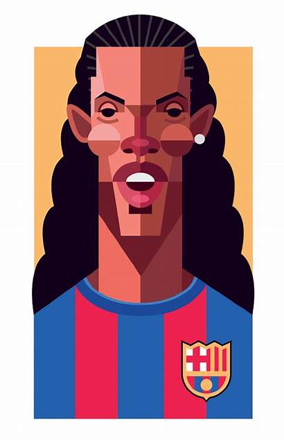 Illustration Playmakers Football Players Series Famous Gifted