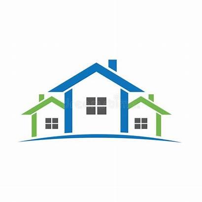 Houses Estate Homes Aligned Casas Logos Inmobiliaria