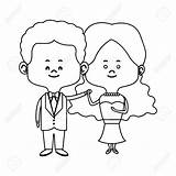 Wife Husband Coloring Drawing Sketch Template sketch template
