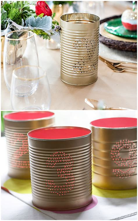 Tin Can Wedding Ideas   Oh Lovely Day